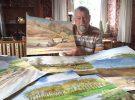 Lied en schilderijen over Grensmaas