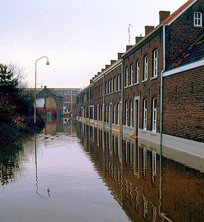 Overstroming Limburg 1993