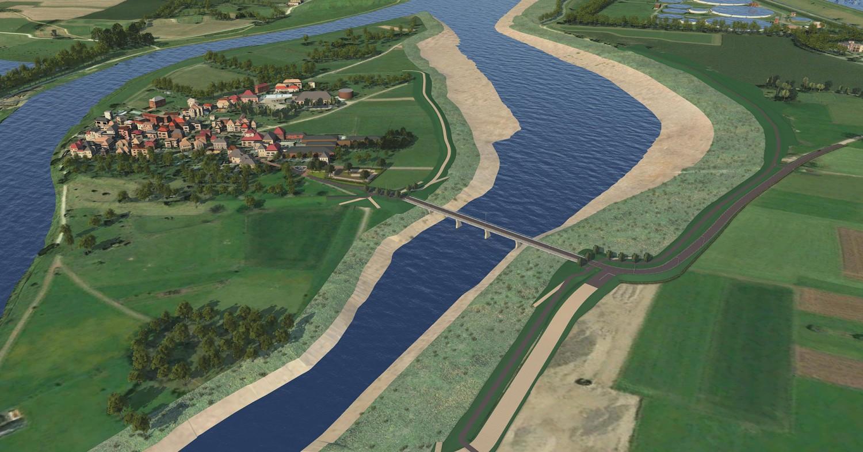 brug bij Maasband